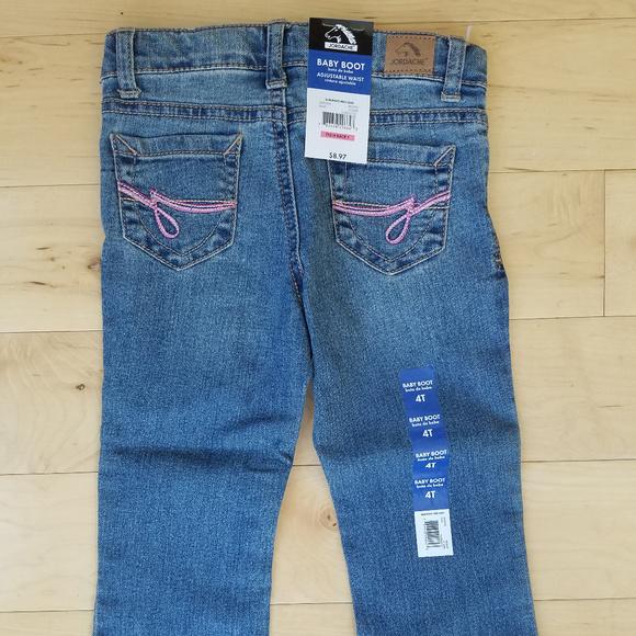 6a57117b096 Jordache Bottoms | Girls 4t Adjustable Waist Bootcut Jeans | Poshmark